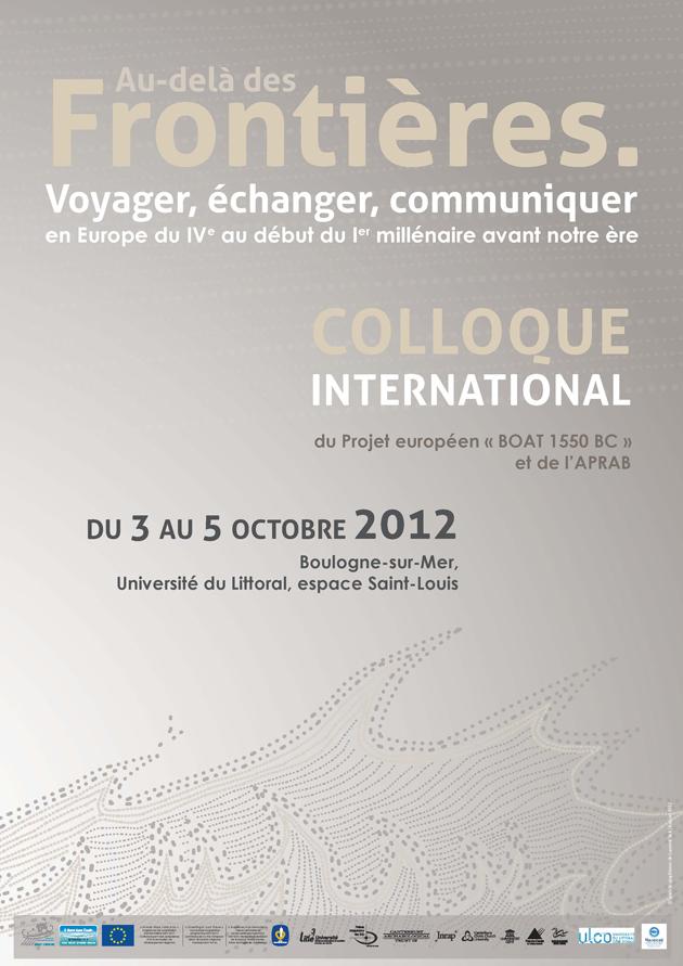 Affiche colloque 2012 Boulogne