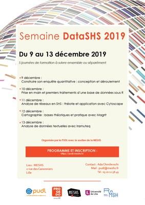 Affiche dataSHS