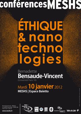 Affiche de la conférence de Bernadette Bensaude-Vincent
