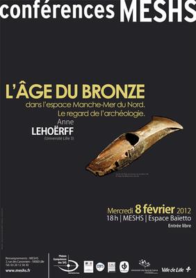Affiche de la Conférence d'Anne Lehoërff