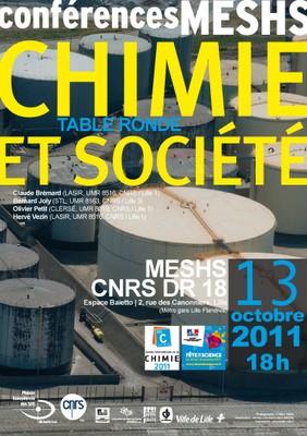 Affiche Chimie et société
