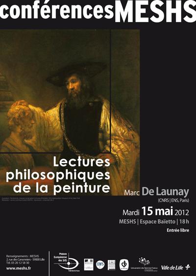 Affiche de la conférence de Marc de Launay