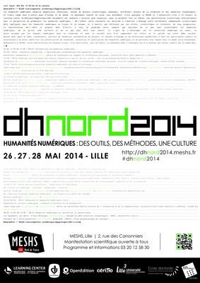 DHnord2014 - Affiche